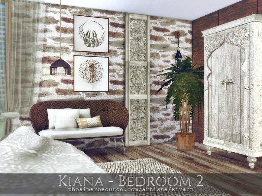 Спальня Kiana - Bedroom 2 Симс 4 (картинка 3)