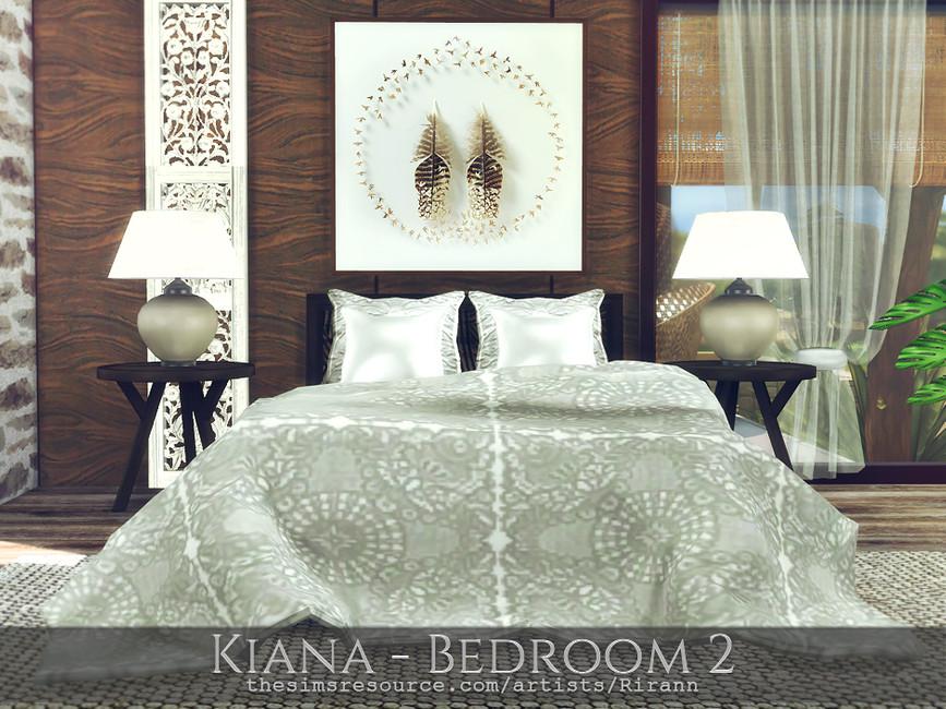 Спальня Kiana - Bedroom 2 Симс 4 (картинка 4)