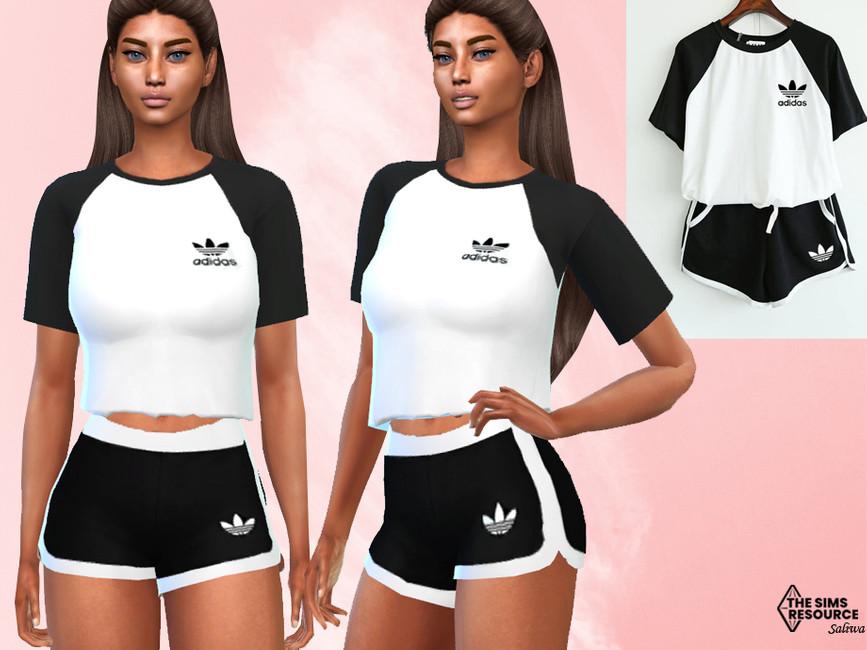 Спортивные шорты для Симс 4