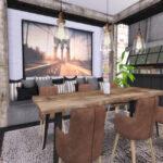 Столовая Mira Dining Room Симс 4