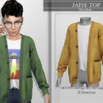 Свитер для мальчиков Jaffe Top Симс 4