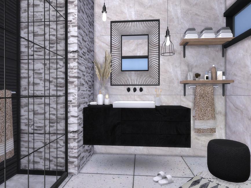 Ванная lvy Bathroom Симс 4