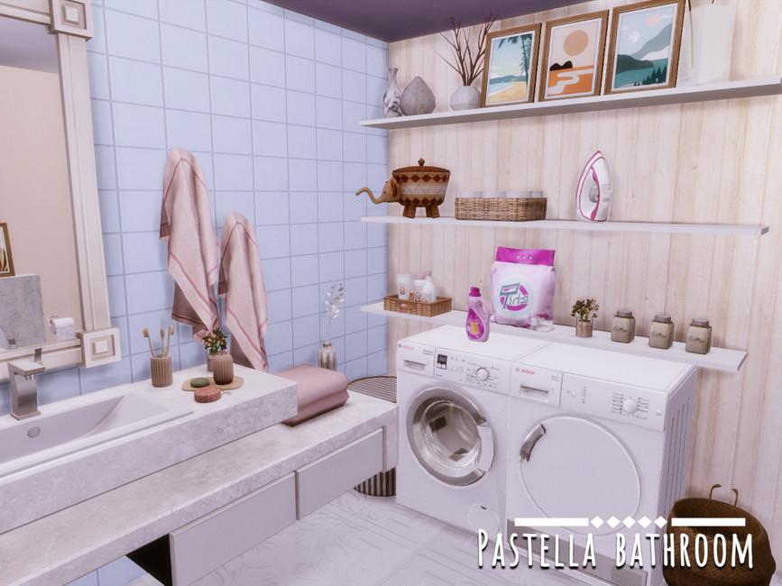 Ванная Pastella Bathroom Симс 4