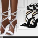 Женская обувь Wedding Heels Симс 4