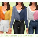 Женские рубашки Симс 4