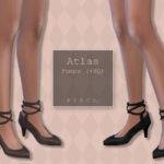 Женские туфли Atlas Pumps ll Симс 4