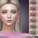 3D ресницы 3D Mermaid Eyelashes Симс 4