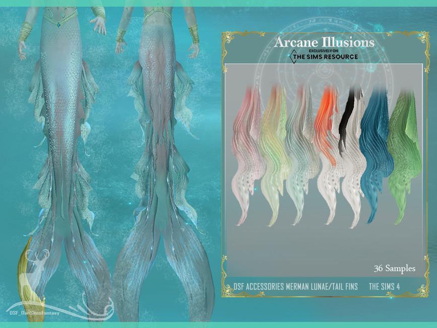 Аксессуары для русалки Симс 4 (картинка 3)