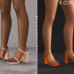 Босоножки ROXANA Heels Симс 4