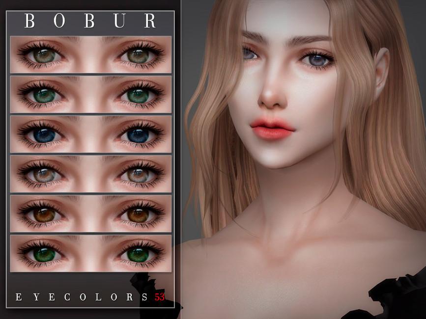 Глаза Eyecolors 53 Симс 4