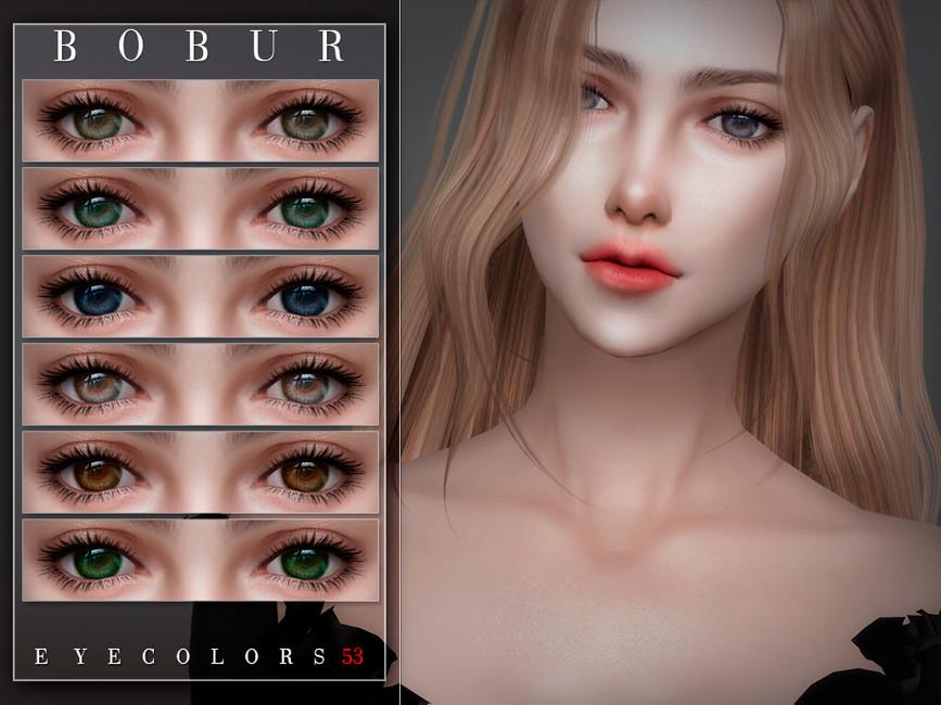 Глаза Eyecolors 53 Симс 4 (картинка 2)