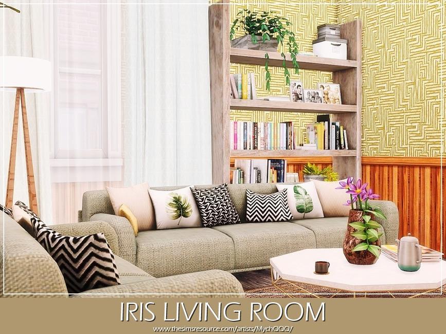 Гостиная Iris Living Room Симс 4 (картинка 2)