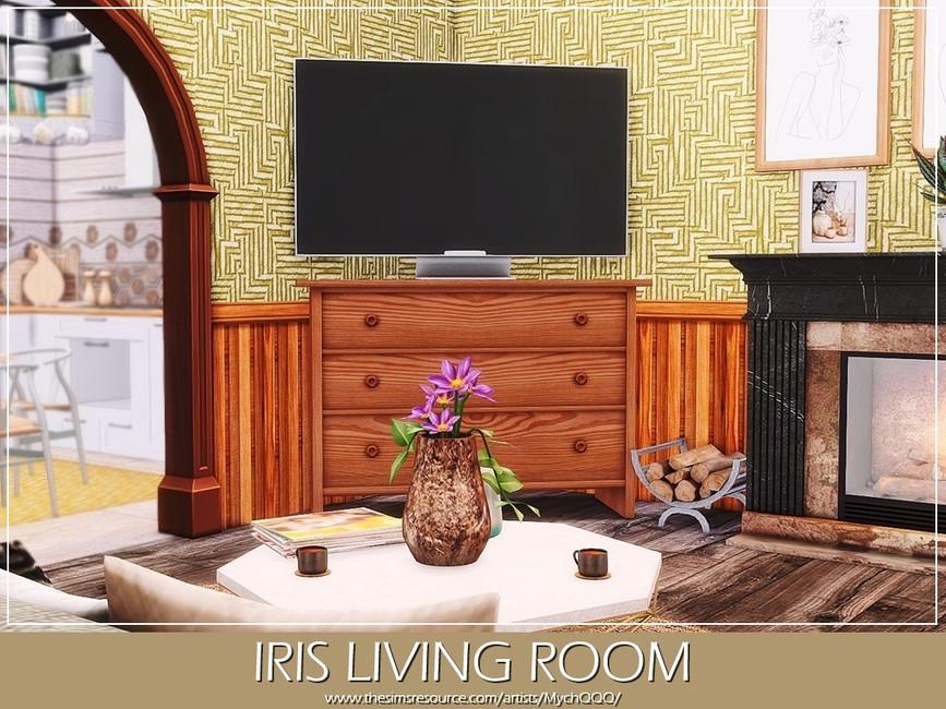 Гостиная Iris Living Room Симс 4 (картинка 4)
