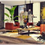 Гостиная Mariana - Living Room Симс 4