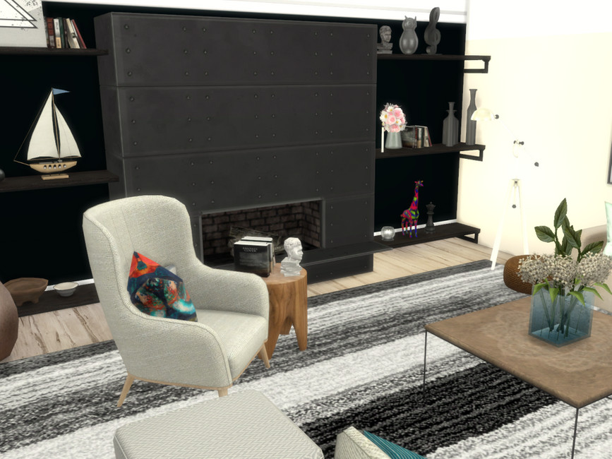 Гостиная Misha Livingroom Симс 4 (картинка 2)