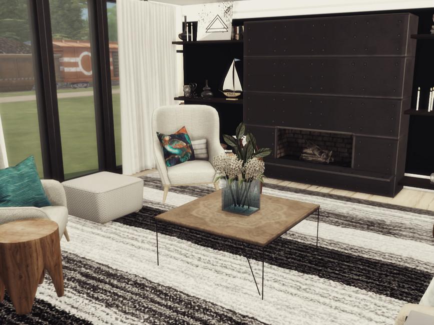 Гостиная Misha Livingroom Симс 4 (картинка 3)