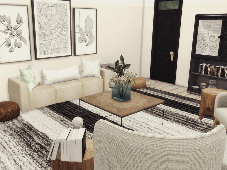 Гостиная Misha Livingroom Симс 4 (картинка 4)