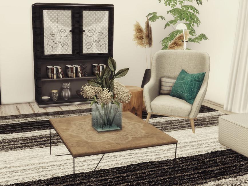 Гостиная Misha Livingroom Симс 4 (картинка 5)