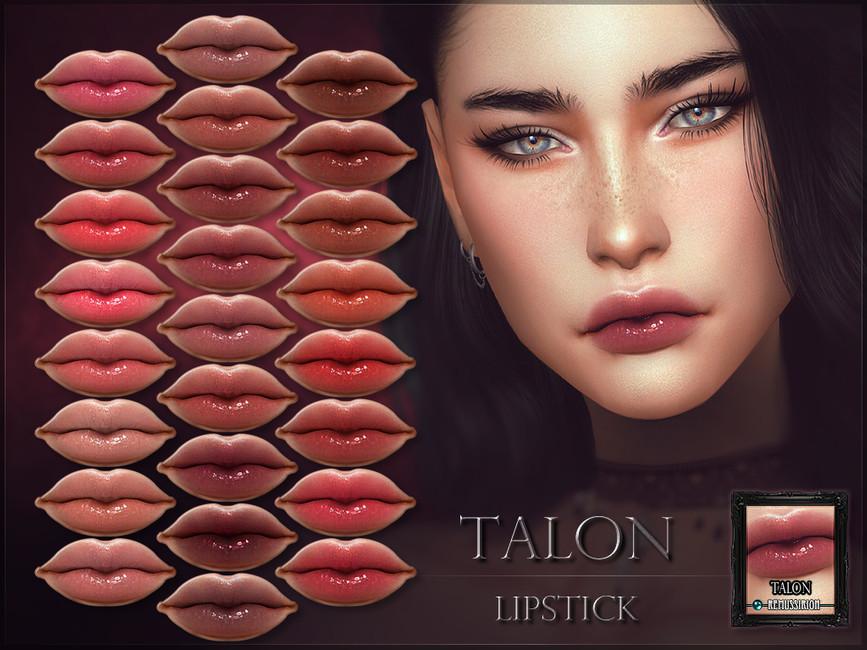 Губная помада Talon Lipstick Симс 4