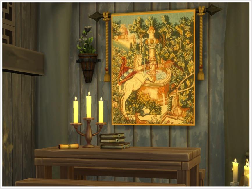 Картины Unicorn Tapestries Симс 4 (картинка 2)