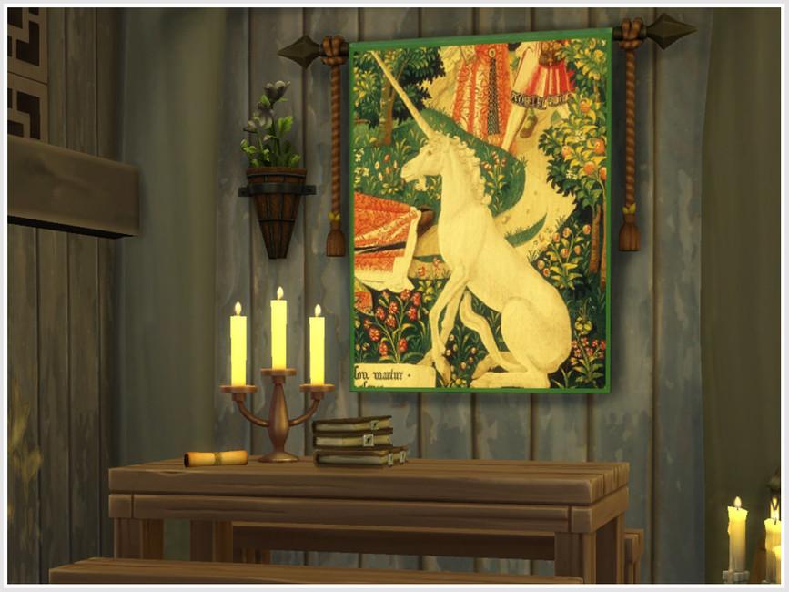 Картины Unicorn Tapestries Симс 4 (картинка 3)