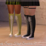 Кроссовки Wendy Super High Sneakers v2 (Platform) Симс 4