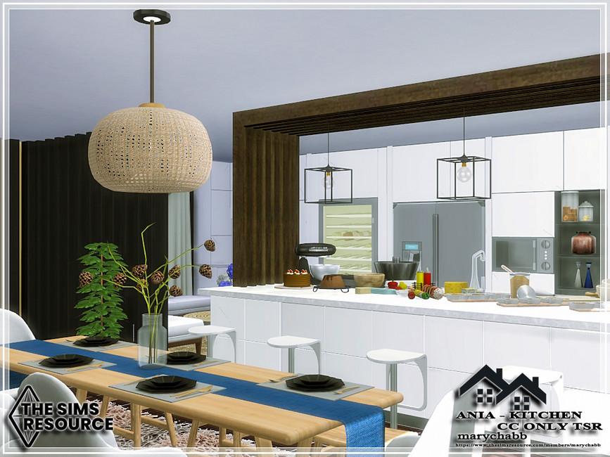 Кухня ANIA - Kitchen Симс 4 (картинка 2)
