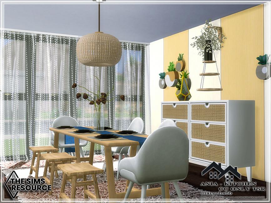 Кухня ANIA - Kitchen Симс 4 (картинка 3)