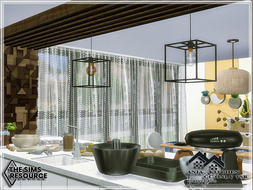 Кухня ANIA - Kitchen Симс 4 (картинка 4)