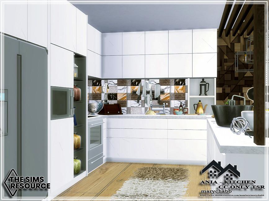 Кухня ANIA - Kitchen Симс 4 (картинка 5)