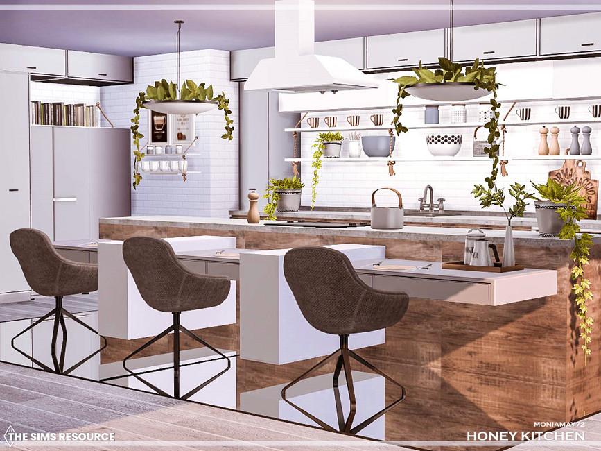 Кухня Honey Kitchen Симс 4 (картинка 3)