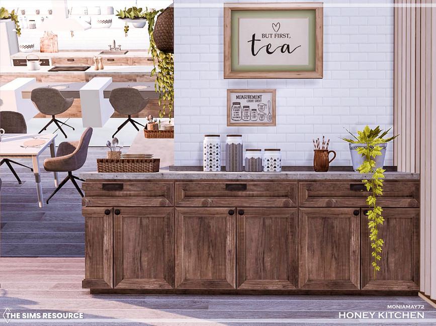 Кухня Honey Kitchen Симс 4 (картинка 5)
