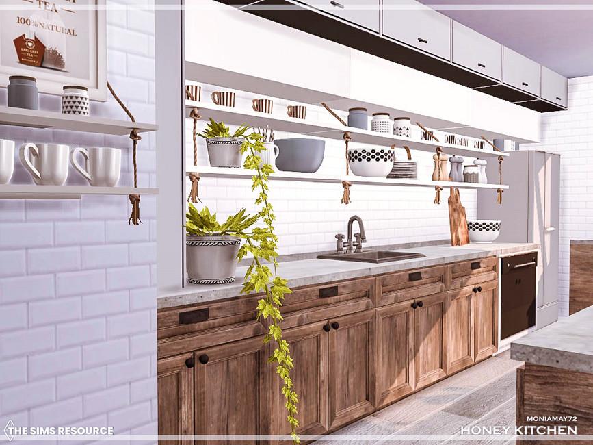 Кухня Honey Kitchen Симс 4 (картинка 6)
