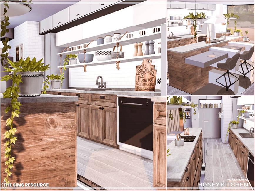 Кухня Honey Kitchen Симс 4 (картинка 8)
