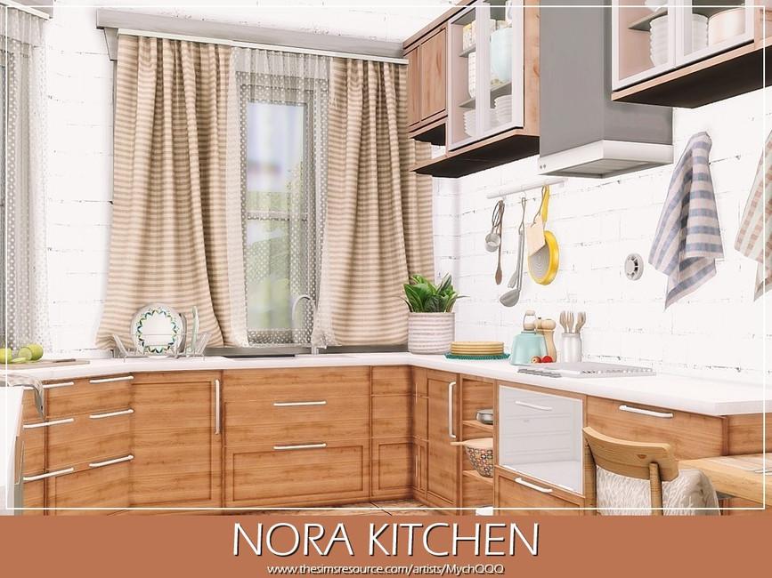 Кухня Nora Kitchen Симс 4