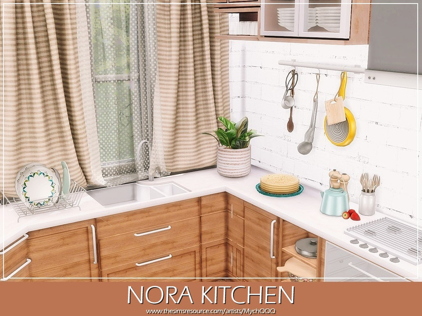 Кухня Nora Kitchen Симс 4 (картинка 2)