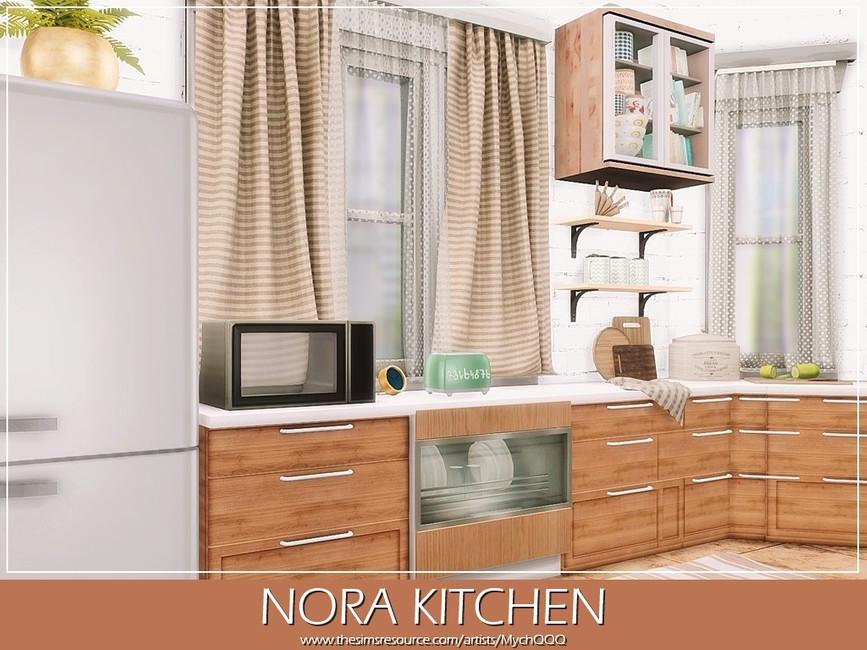Кухня Nora Kitchen Симс 4 (картинка 3)