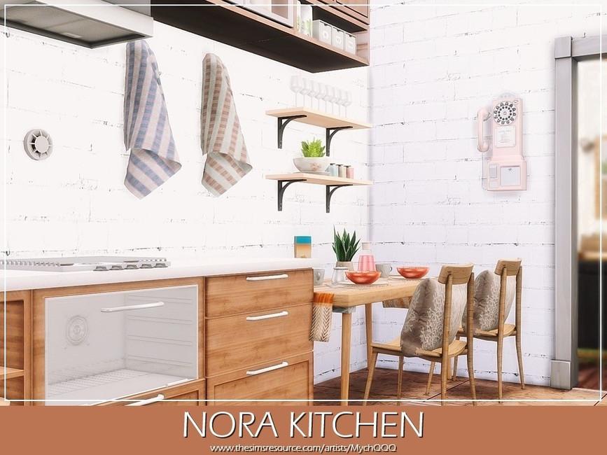 Кухня Nora Kitchen Симс 4 (картинка 4)
