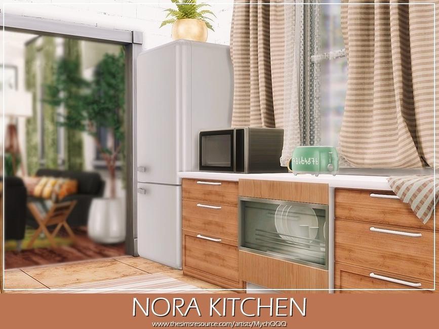 Кухня Nora Kitchen Симс 4 (картинка 5)