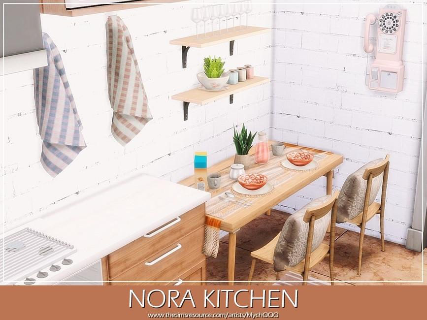 Кухня Nora Kitchen Симс 4 (картинка 6)