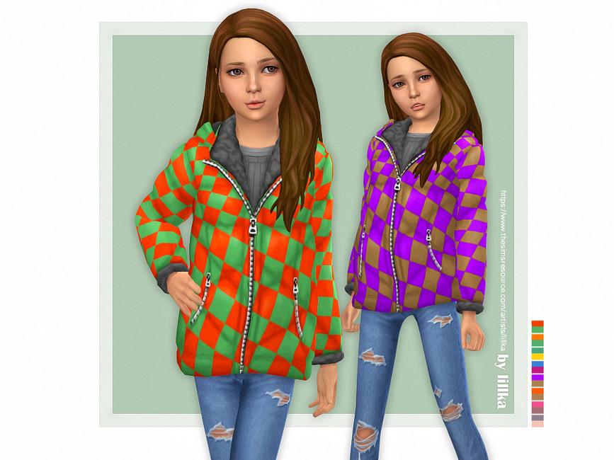 Куртки для детей Симс 4