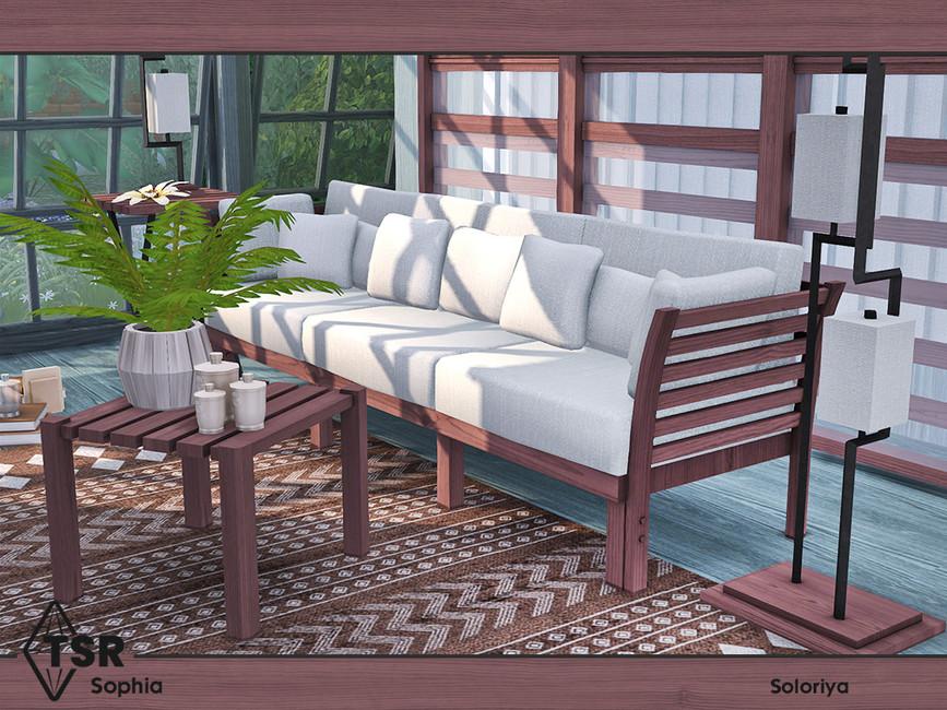 Мебель для гостиной Симс 4 (картинка 4)