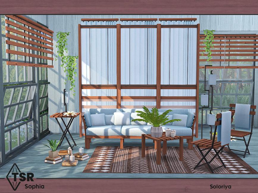 Мебель для гостиной Симс 4 (картинка 5)