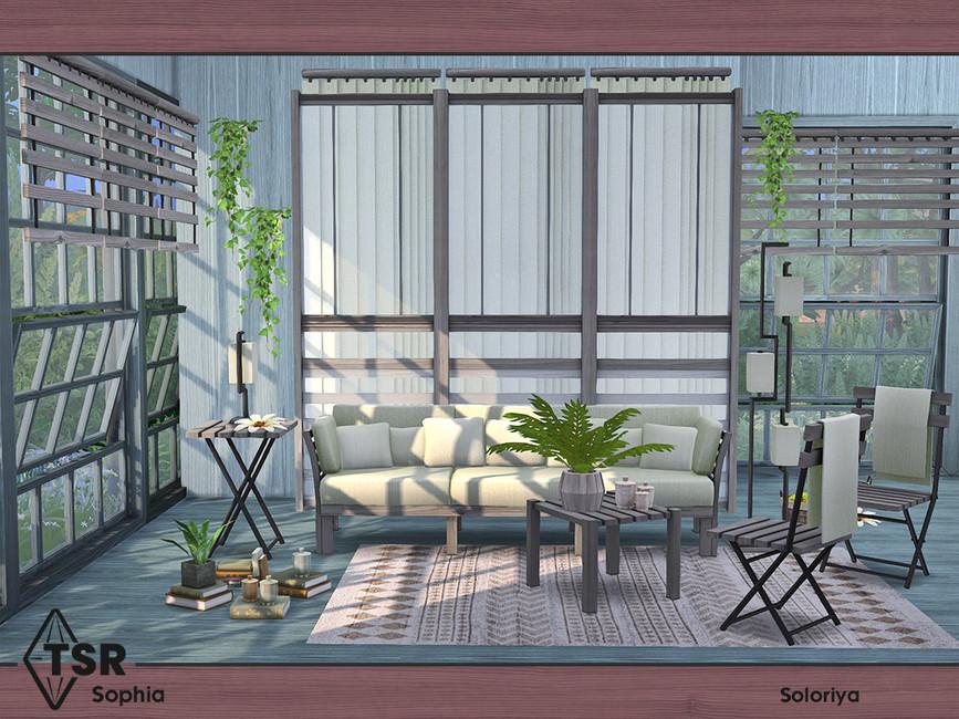 Мебель для гостиной Симс 4 (картинка 6)