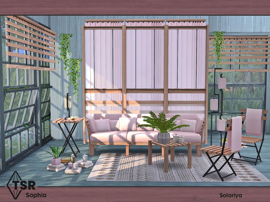 Мебель для гостиной Симс 4 (картинка 7)