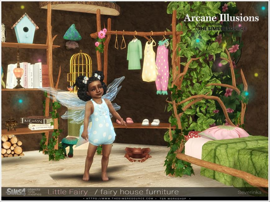 Мебель LittleFairy Furniture для Симс 4