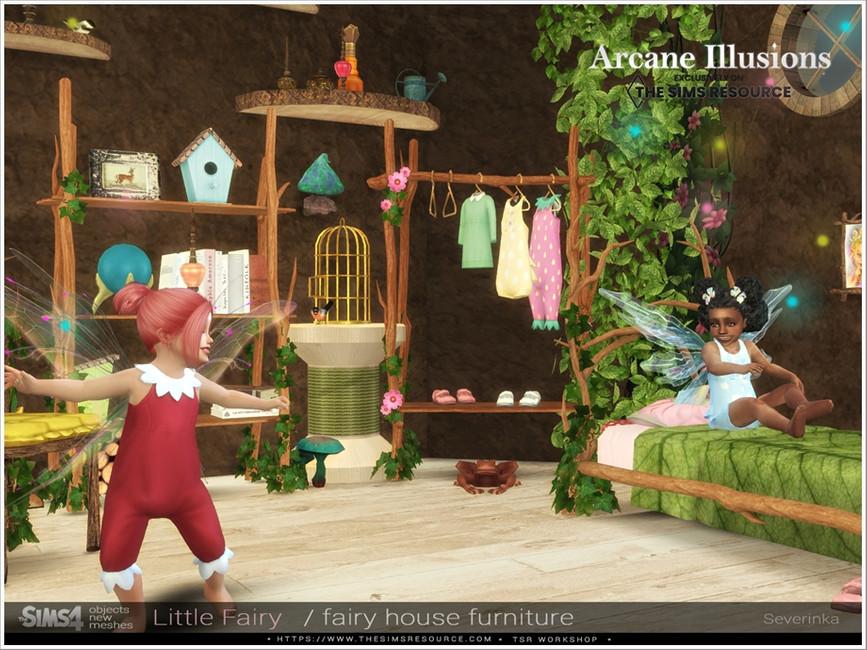 Мебель LittleFairy Furniture для Симс 4 (картинка 2)