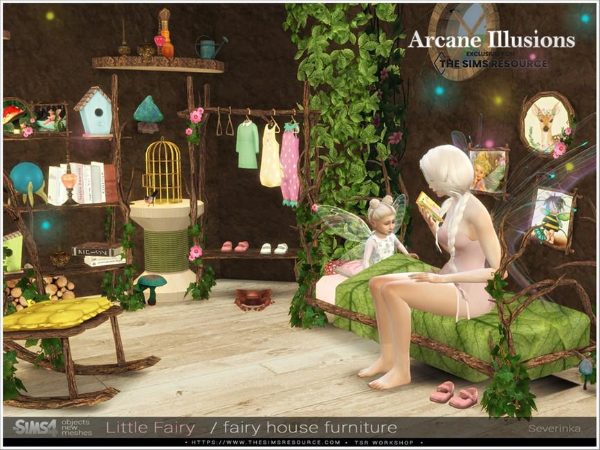 Мебель LittleFairy Furniture для Симс 4 (картинка 3)
