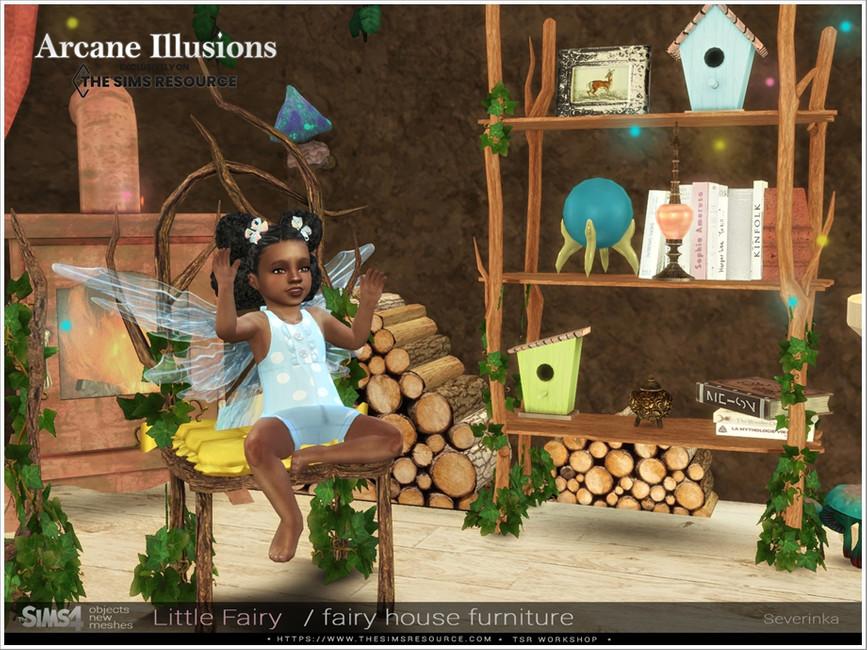Мебель LittleFairy Furniture для Симс 4 (картинка 4)