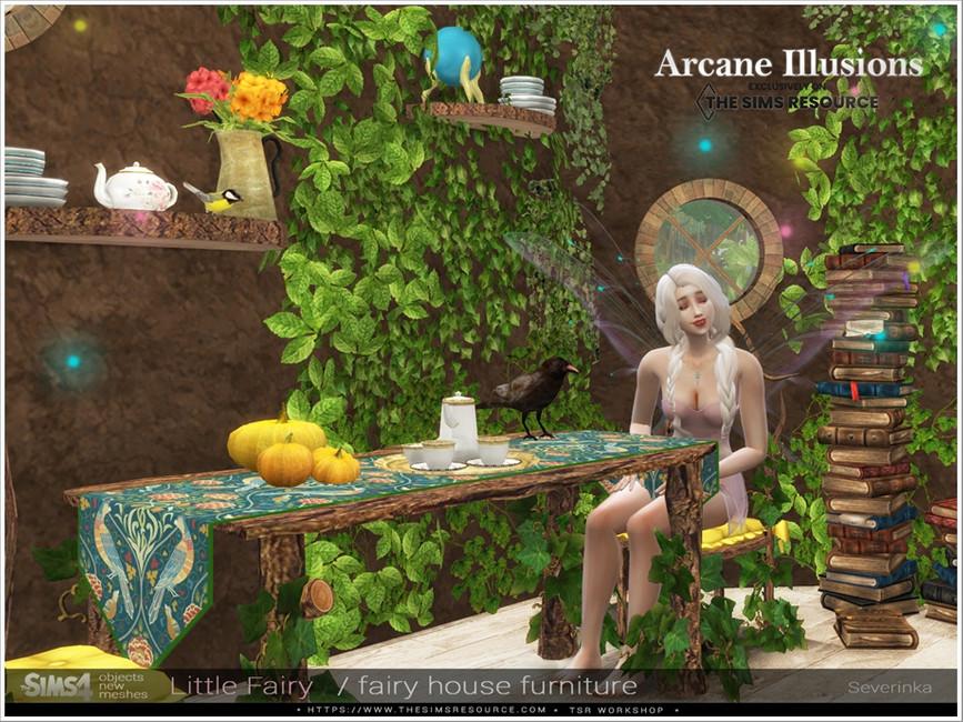 Мебель LittleFairy Furniture для Симс 4 (картинка 5)